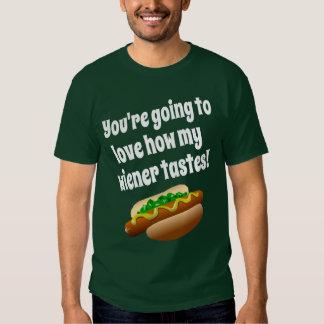 Weiner Tastes T-shirt
