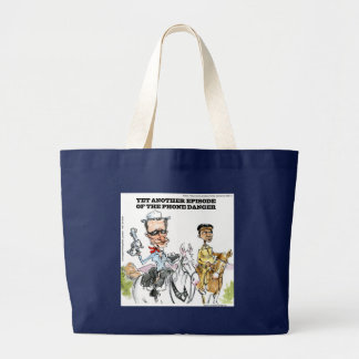 Weiner: The Phone Danger Funny Large Tote Bag