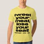 Weinergate 2011 - Tweet Your Meat Tee Shirts