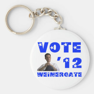Weinergate - Blue Keychain