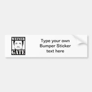 Weinergate Car Bumper Sticker