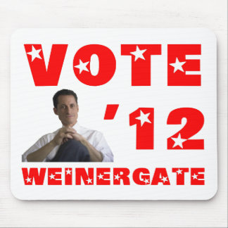 Weinergate - Red Mouse Pad