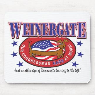 Weinergate - The Congressmans Weiner Mouse Pads