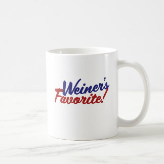 Weiners favorite coffee mug