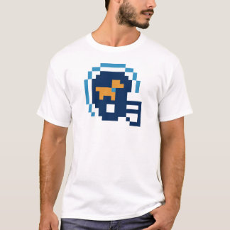 Weiners Football 8-Bit Football Helmet T-Shirt