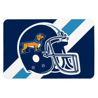 Weiners Football Helmet Magnet