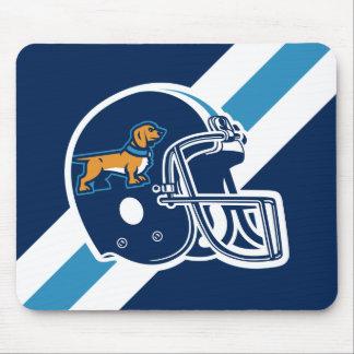Weiners Football Helmet Mouse Pad