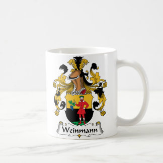 Weinmann Family Crest Classic White Coffee Mug