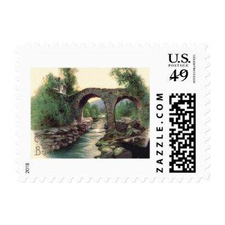Weir Bridge Killarney Stone Bridge Postage Stamp