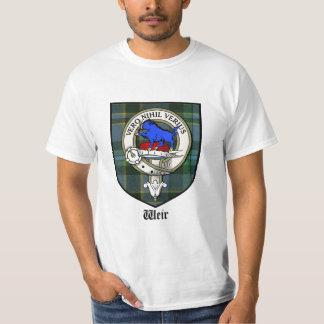 Weir Clan Crest Tshirt / Weir Clan Badge