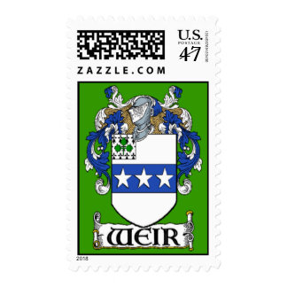 Weir Coat of Arms Postage Stamps