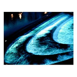 Weir(d) at Bath (3) Postcard