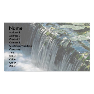 Weir on river Double-Sided standard business cards (Pack of 100)