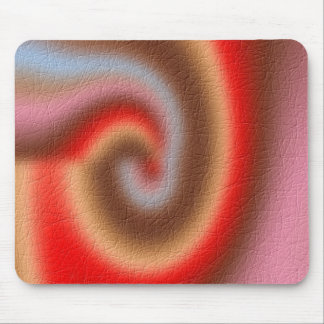 Weird abstract pattern mouse pad