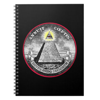 Weird All-Seeing Eye Notebook