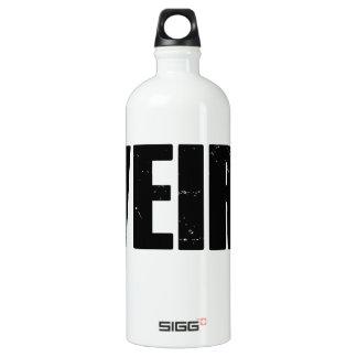 Weird Aluminum Water Bottle