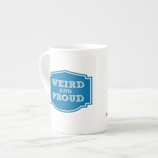 Weird and Proud bone china mug Tea Cup