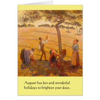Weird August Holidays Card