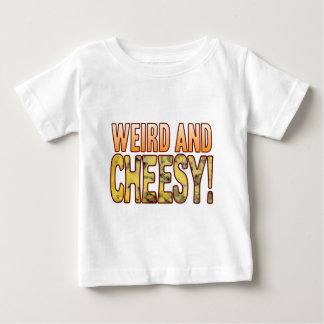 Weird Blue Cheesy Baby T-Shirt
