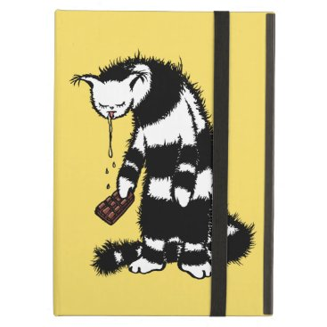 Weird Cat Creature Funny Chocolate Lover Case For iPad Air