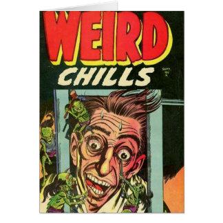 Weird Chills Comic book Card