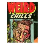 Weird Chills Comic book Post Cards