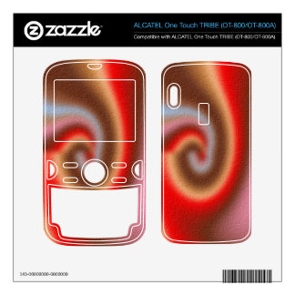 Weird colorful pattern ALCATEL tribe skins
