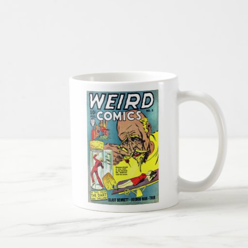 Weird Comics Coffee Mug