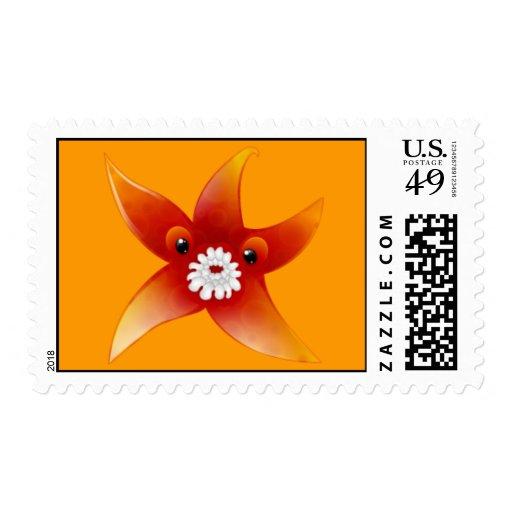 Weird Creature Icon 10 Stamp