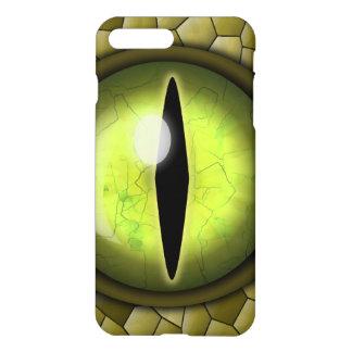 Weird Creepy Snake Eye Eyeball and Skin Glossy iPhone 7 Plus Case