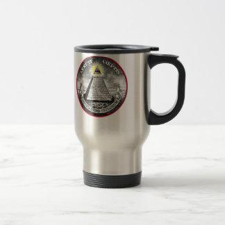 Weird Dollar Symbol Travel Mug