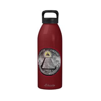 Weird Dollar Symbol Water Bottles