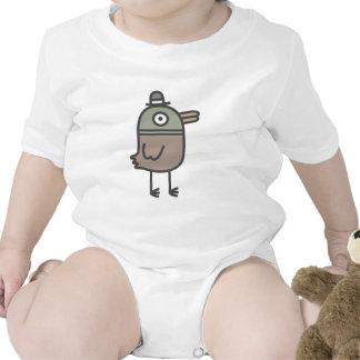 Weird Duck Baby Bodysuits