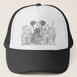 Weird Fantasy Car & Driver Trucker Hat
