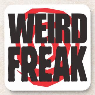 Weird Freak Beverage Coasters