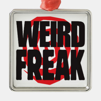 Weird Freak Christmas Tree Ornament