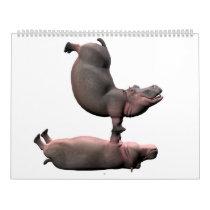 Weird Funny Hippos 2019 Calendar