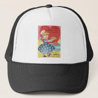 Weird Funny Mince Apple Pie Waitress Valentine Trucker Hat