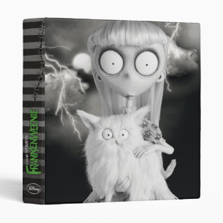 Weird Girl 3 Ring Binder