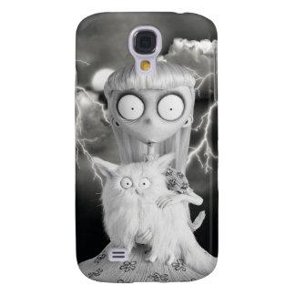 Weird Girl Samsung Galaxy S4 Cover
