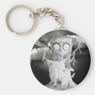 Weird Girl Keychain
