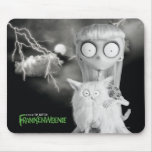 Weird Girl Mouse Pad