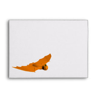 Weird Halloween Bat Envelope