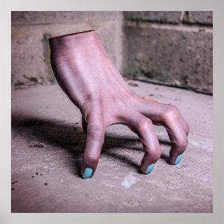 Weird Hand poster