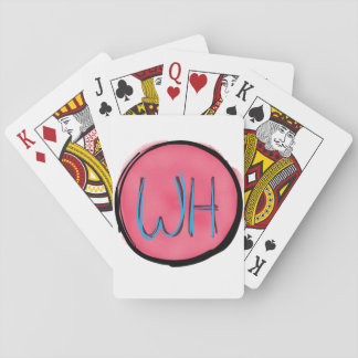 Weird Happiness playing cards
