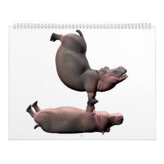 Weird Hippos 2017 Calendar