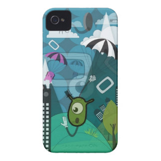 Weird Invasion iPhone Case iPhone 4 Covers