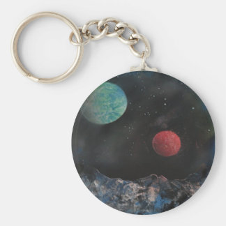 Weird Outer Space Keychain