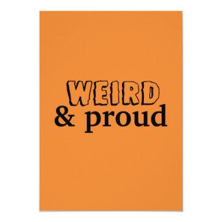 Weird & Proud Invitation