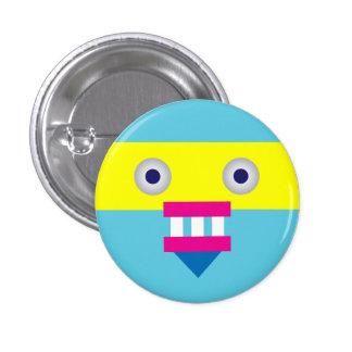 Weird Robot 1 Inch Round Button